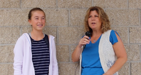CarlyRae Jones interviews Mrs. O'Neill about her summer break.